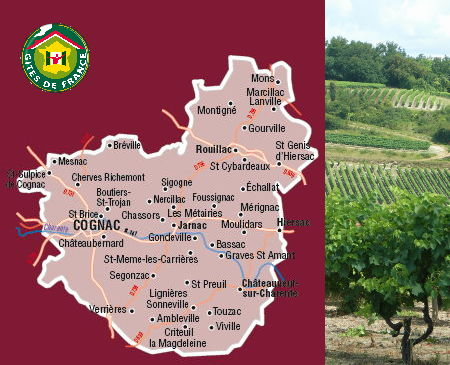 west charente cognac country
